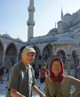 At Blue Mosque